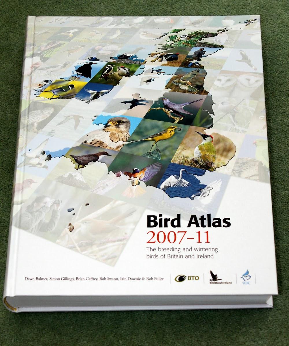 Bird Atlas courtesy of Phil Slade's http://anotherbirdblog.blogspot.co.uk/